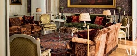10 Extravagant Interiors by Studio Peregalli