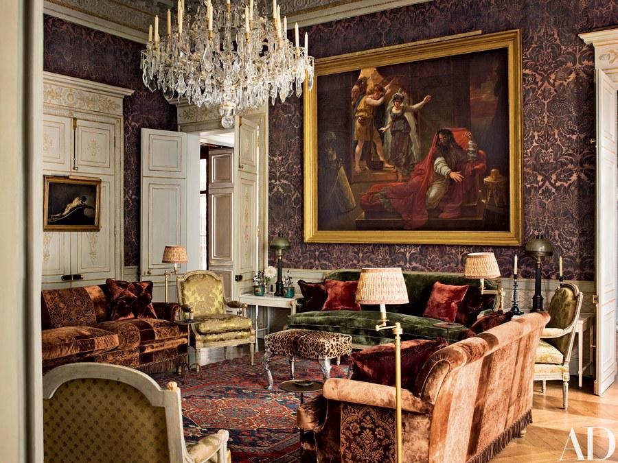10 extravagant interiors by studio peregalli for Studi interior design roma