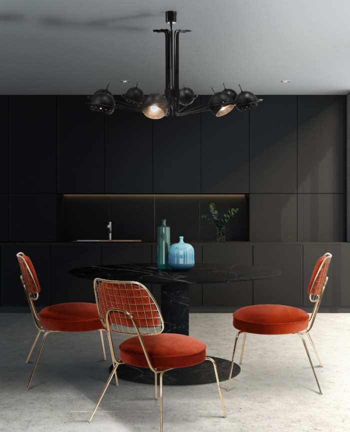 black 50 Unforgettable Black Home Accents and Interior Decorating Ideas Essential Home Marie Chair 01