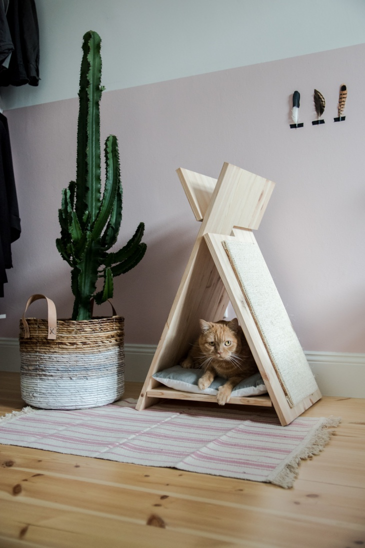house for a cat House for a cat: let the pet also have its own personal space House for a cat let the pet also have its own personal space 5