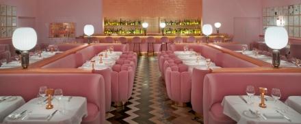 Pink restaurant in London