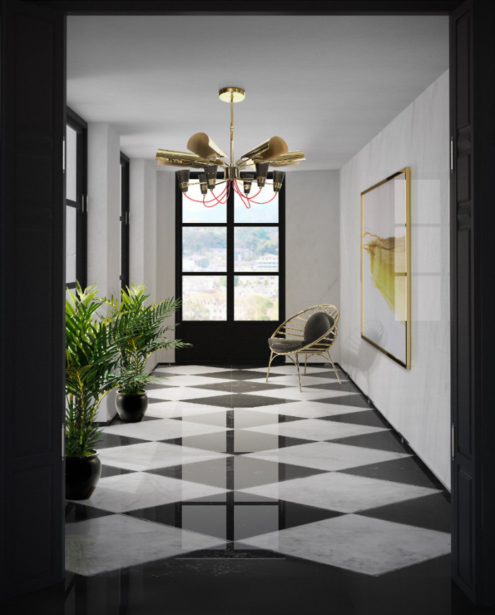 black 50 Unforgettable Black Home Accents and Interior Decorating Ideas hall hotel b aires
