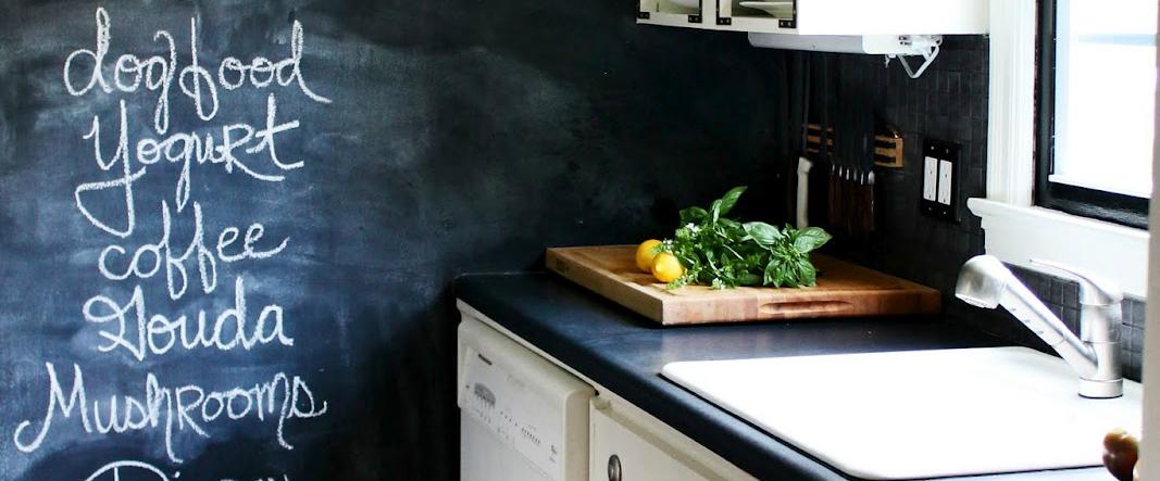 Blackboard In The Interior Ideas For Realization Inspirations