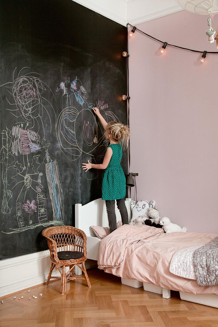 blackboard Blackboard in the interior: ideas for realization blackboard 1