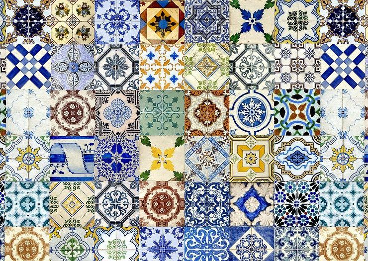 azulejo: what it is Azulejo: what it is, how it is used in the interior 21db0f8851b11d711431adec350cab21 740x525