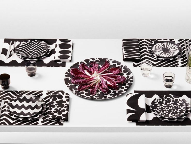 Scandinavian patterns Black and white Scandinavian patterns in interior design TARGET KOKO 4A 740x560