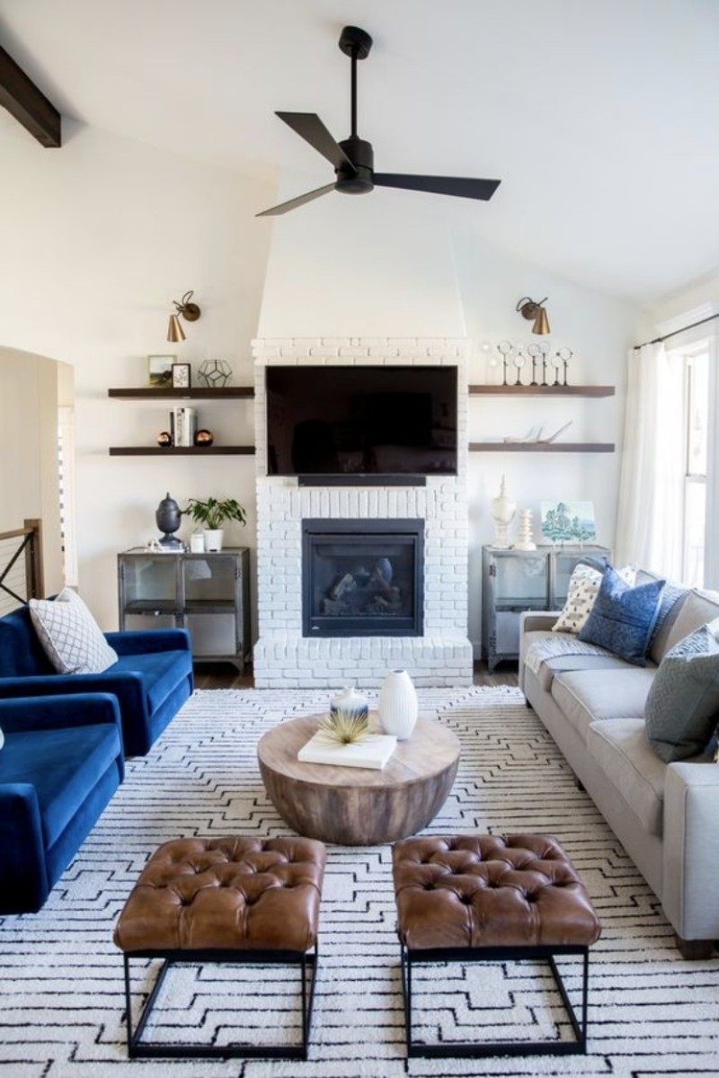 Top Image Living Room Ideas Fireplace