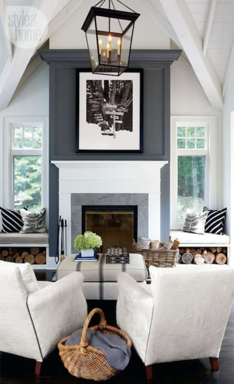 Warm Up W 5 Living Room Ideas With Fireplace Inspirations Essential Home