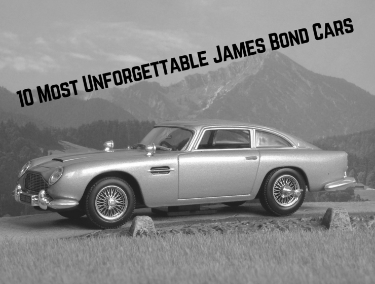 The 10 Most Unforgettable James Bond Cars of All Time