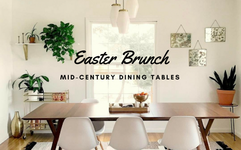 Get Ready for Easter Brunch W These Mid-Century Dining Tables_6 mid-century dining table Get Ready for Easter Brunch W/ These Mid-Century Dining Tables Get Ready for Easter Brunch W These Mid Century Dining Tables feat 480x300