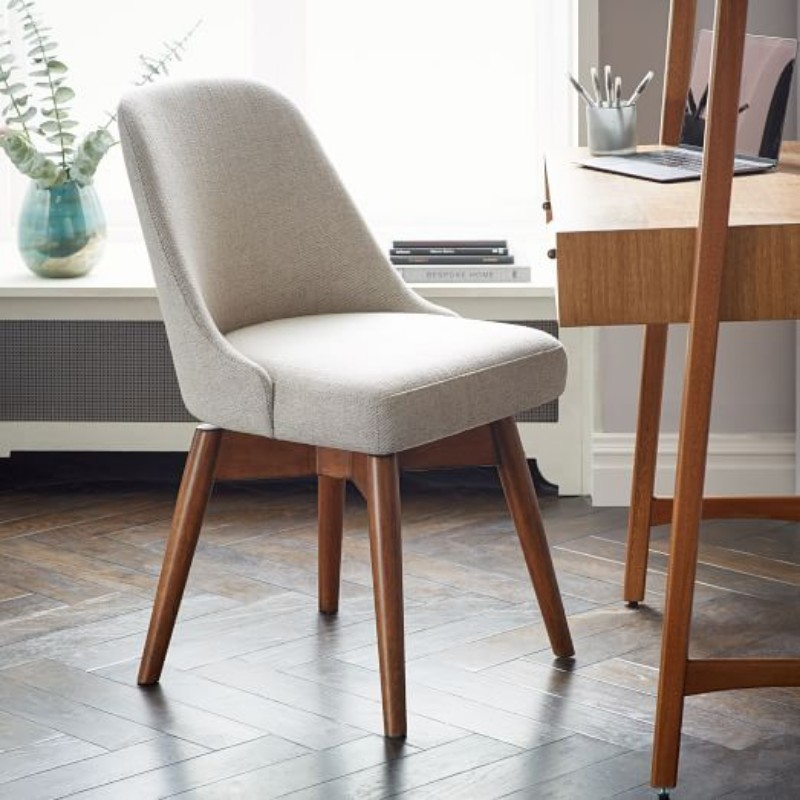 5 Inspiring Ways of Using a Mid-Century Chair in Your Home Decor mid-century chair 5 Inspiring Ways of Using a Mid-Century Chair in Your Home Decor mid century swivel office chair west elm with design 7