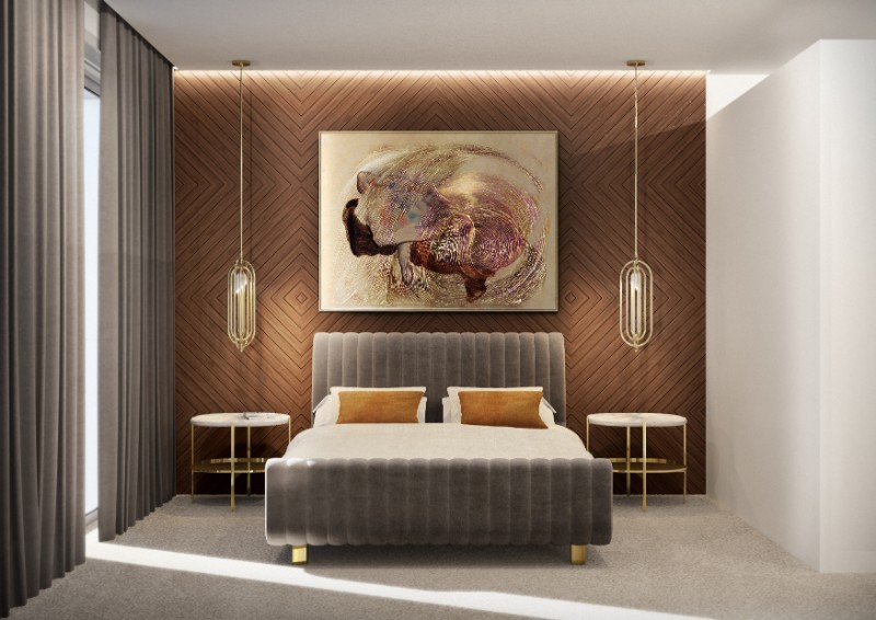 The Mid-Century Furniture You Need to Upgrade Your Bedroom Decor mid-century furniture The Mid-Century Furniture You Need to Upgrade Your Bedroom Decor Delightfull EssentialHome ambiences 10