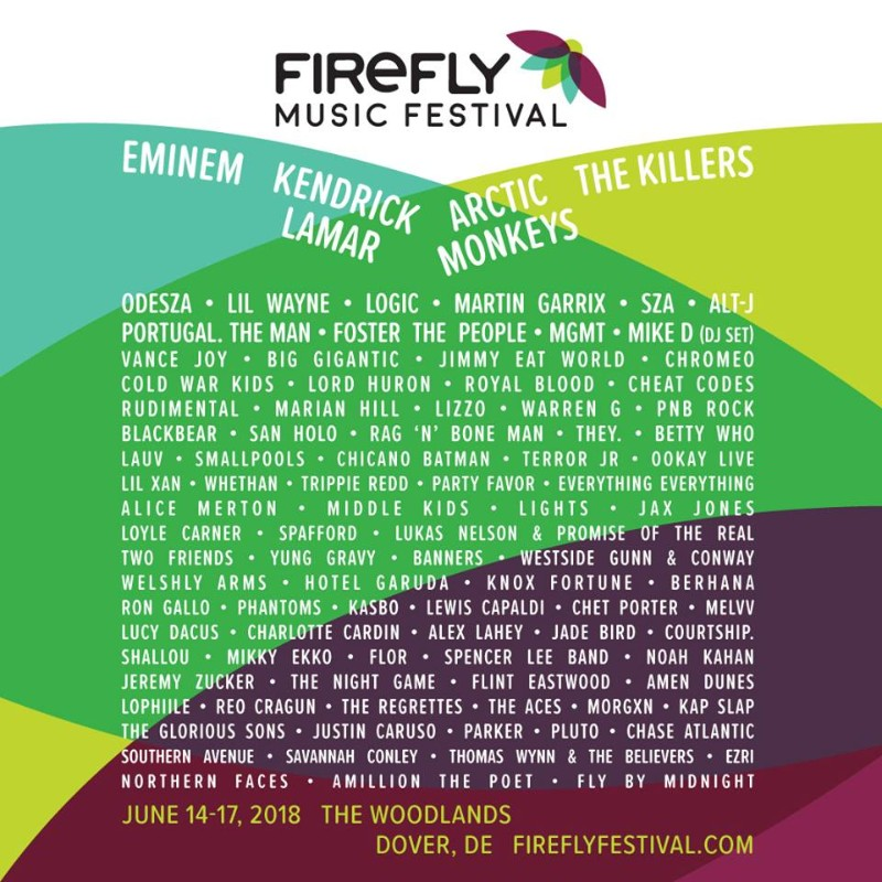The Summer Music Festivals You Can't Miss in 2018! firefly Summer Music Festivals The Summer Music Festivals You Can't Miss in 2018! The Summer Music Festivals You Cant Miss in 2018 firefly