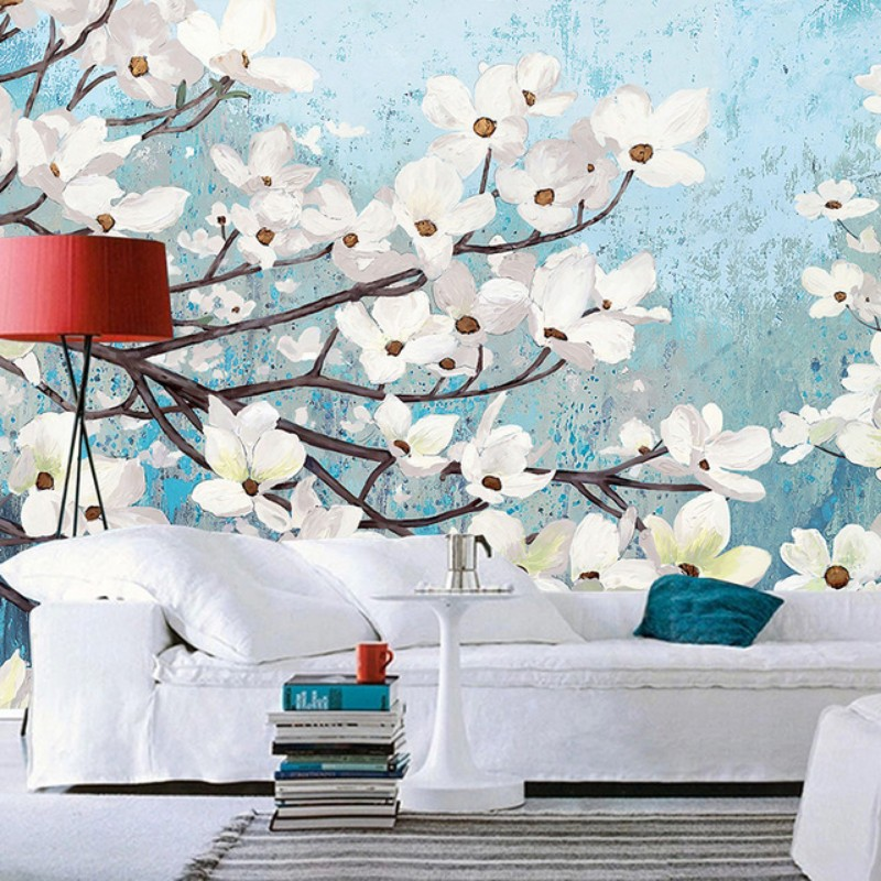 8 Fl Wallpapers That Will Bring The Outdoors Into Your Living Room