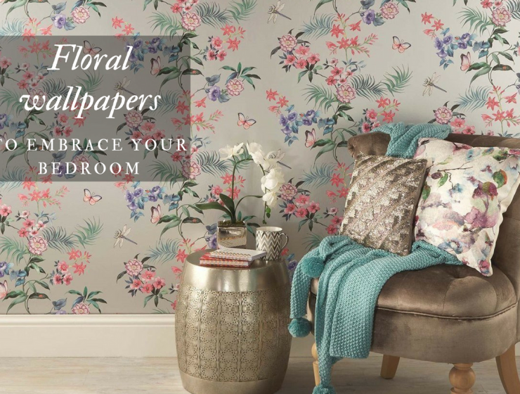 8 Floral Wallpapers that Will Bring the Outdoors Into your Living Room