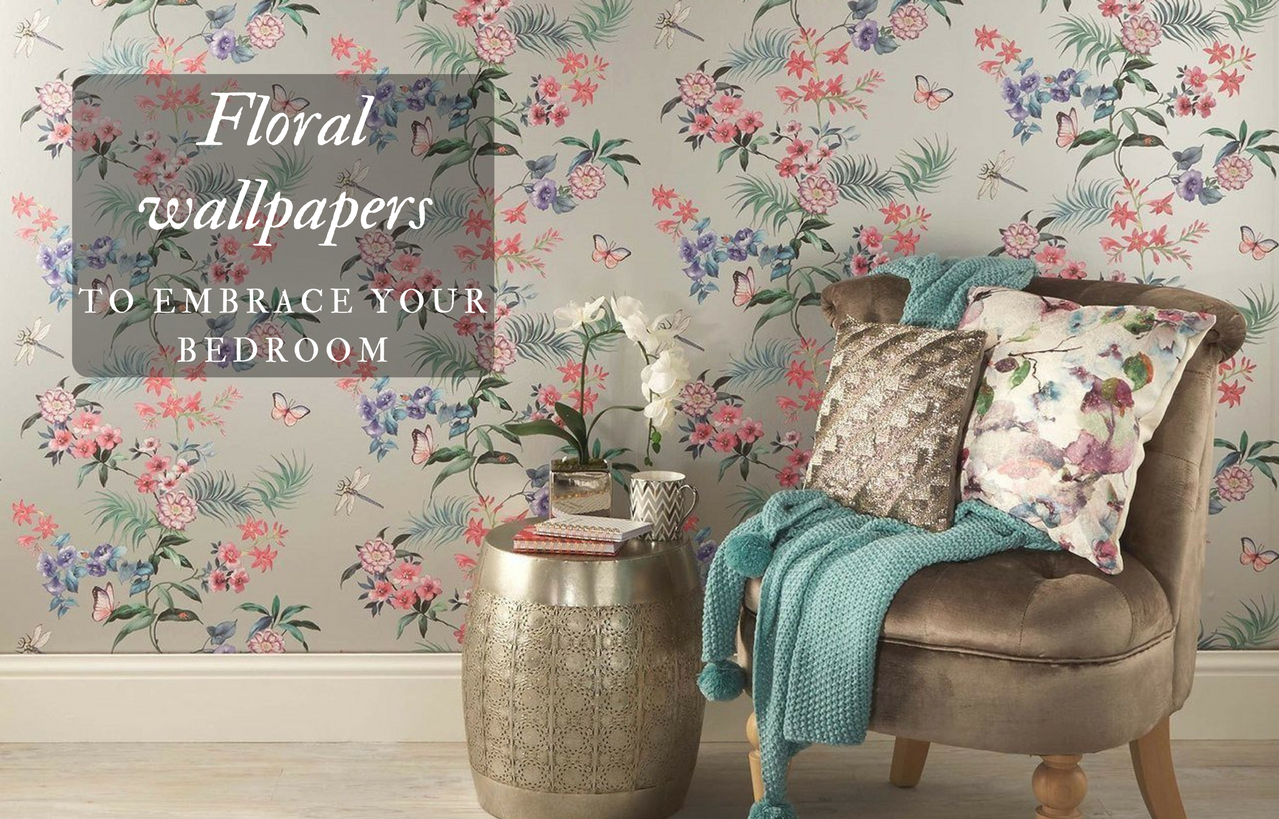 8 Floral Wallpapers that Will Bring the Outdoors Into your ...