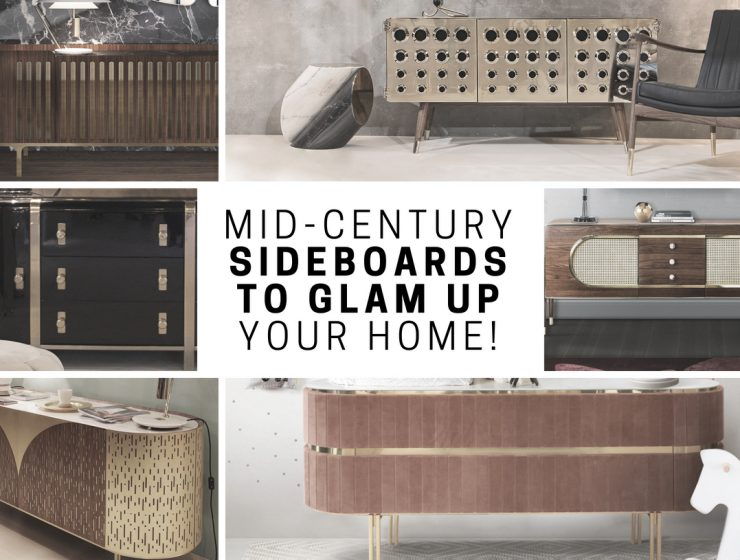 mid-century sideboard Learn How to Glam Up Your Home With a Mid-Century Sideboard! Learn How to Glam Up Your Home With a Mid Century Sideboard 1 1 740x560