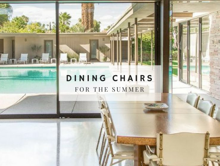 Mid-Century Dining Chair Ideas to Help You Plan a Summer Dinner
