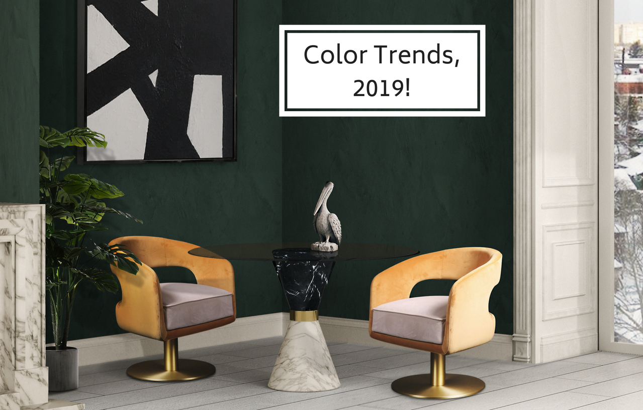 Bon These Are The Home Interior Colors All Experts Are Betting For 2019 U2013  Inspirations | Essential Home