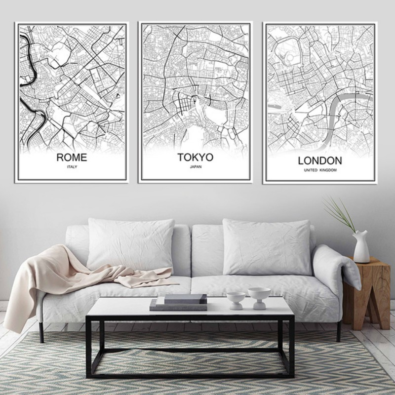 Living Room Wall Decor: 10 Vintage Lifestyle Posters ... on Room Decor Posters id=82586