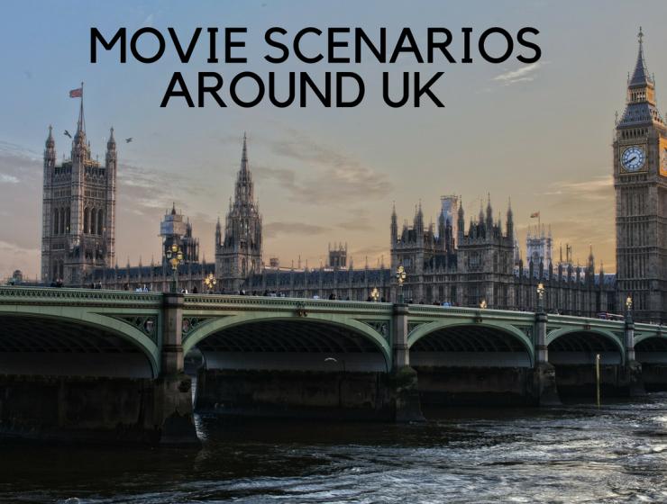 it's popcorn time: great movies scenes around UK