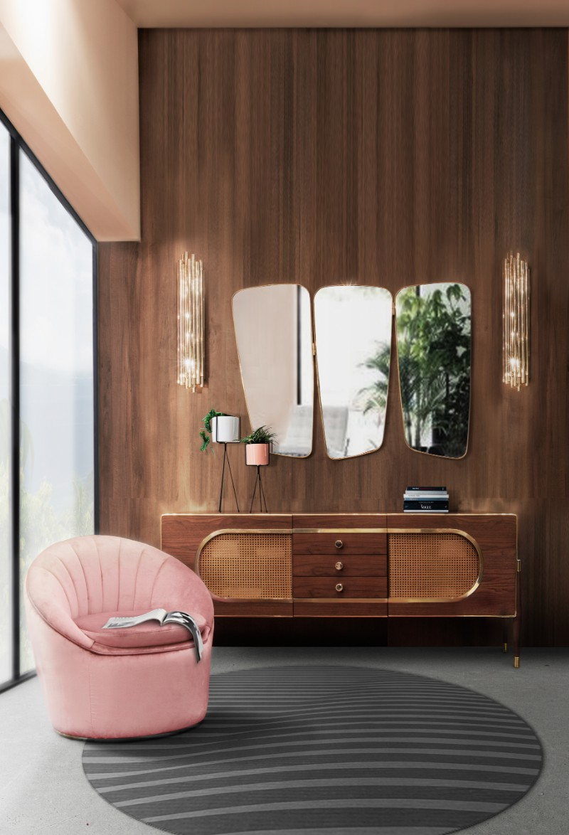 Monroe Slipper Chair: The Story Behind the Icon slipper chair Monroe Slipper Chair: The Story Behind the Icon Essential Home Monroe Armchair Dandy Sideboard