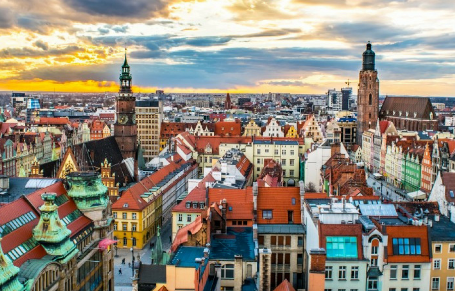 This Charming Country Colorful Cities around Poland!