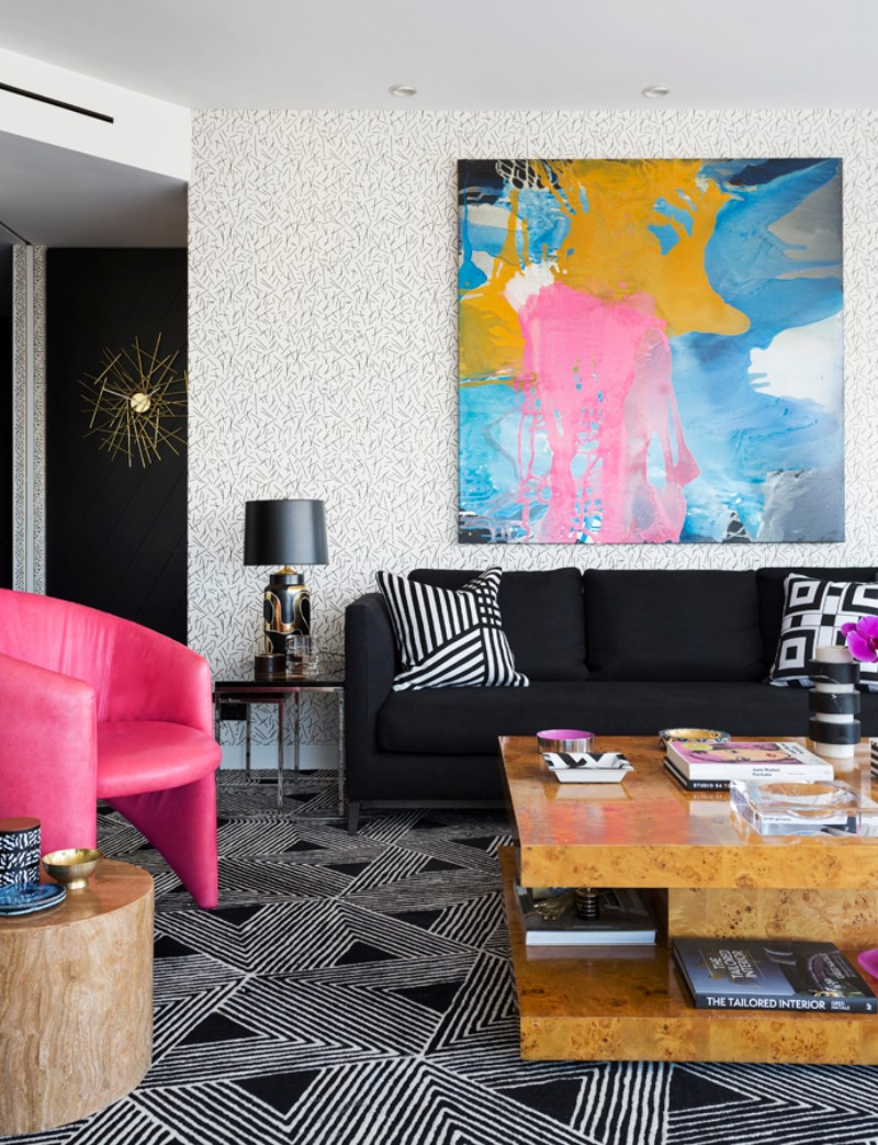 Geometric Patterns and Andy Warhol Meet in this Eclectic Interior eclectic interior Geometric Patterns and Andy Warhol Meet in this Eclectic Interior Geometric Patterns and Andy Warhol Meet in this Eclectic Interior 1