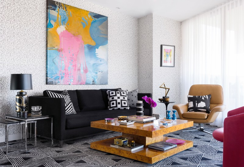 Geometric Patterns and Andy Warhol Meet in this Eclectic Interior eclectic interior Geometric Patterns and Andy Warhol Meet in this Eclectic Interior Geometric Patterns and Andy Warhol Meet in this Eclectic Interior 2