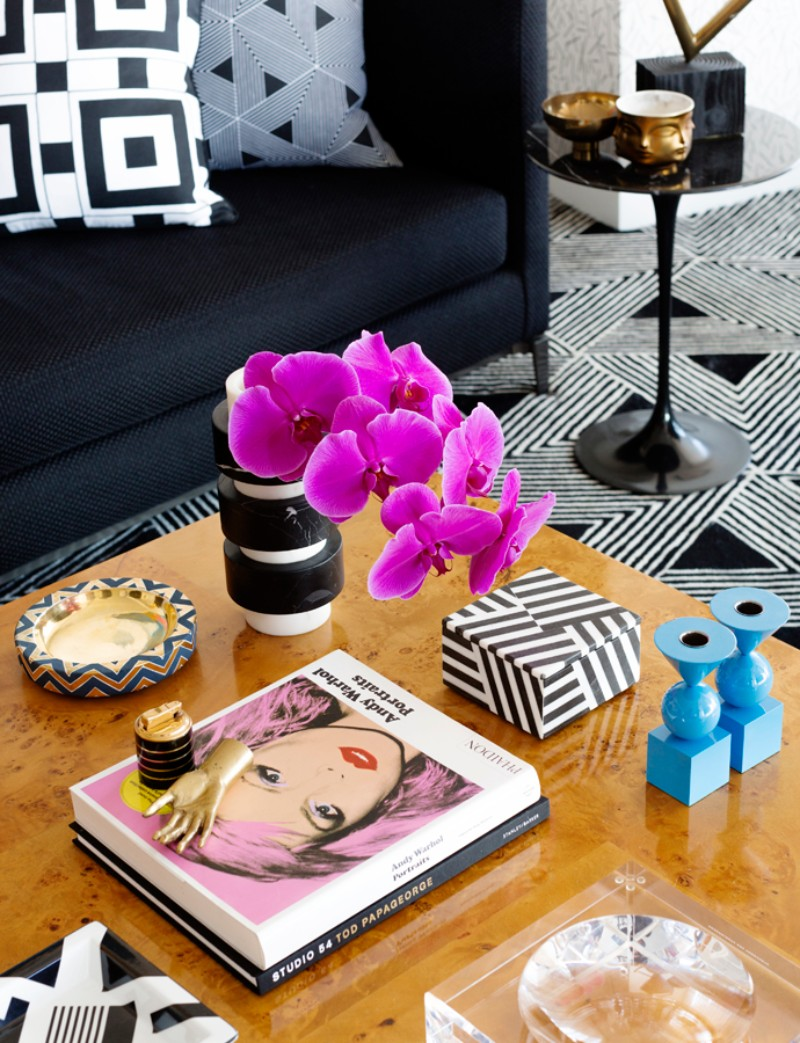 Geometric Patterns and Andy Warhol Meet in this Eclectic Interior eclectic interior Geometric Patterns and Andy Warhol Meet in this Eclectic Interior Geometric Patterns and Andy Warhol Meet in this Eclectic Interior 4