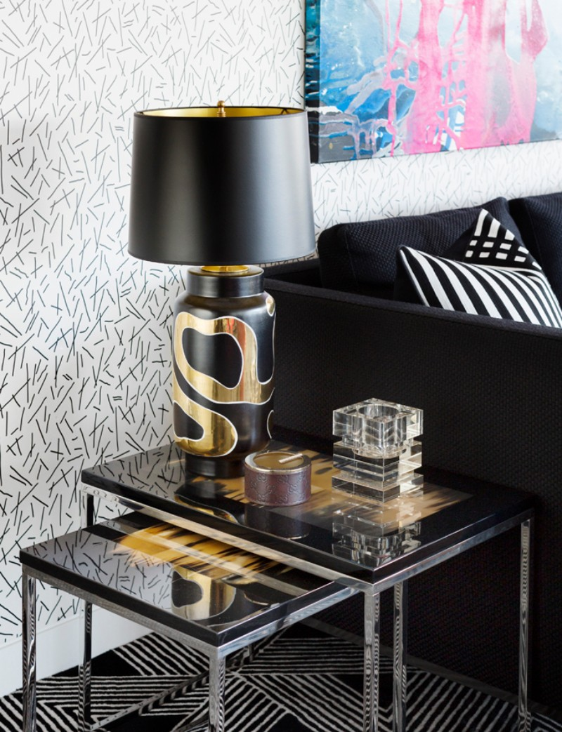 Geometric Patterns and Andy Warhol Meet in this Eclectic Interior eclectic interior Geometric Patterns and Andy Warhol Meet in this Eclectic Interior Geometric Patterns and Andy Warhol Meet in this Eclectic Interior 6