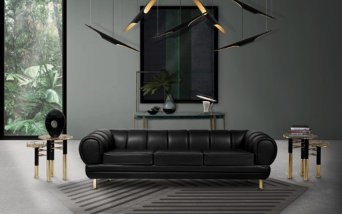 Fall Decor: The Black Living Room Furniture We're Betting On