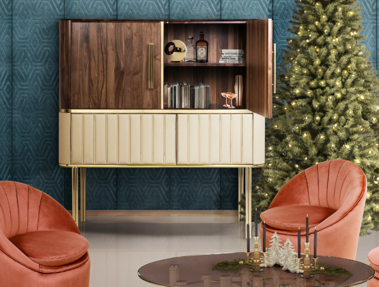 Christmas Decor These Mid-Century Armchairs Are Just Your Cup of Tea