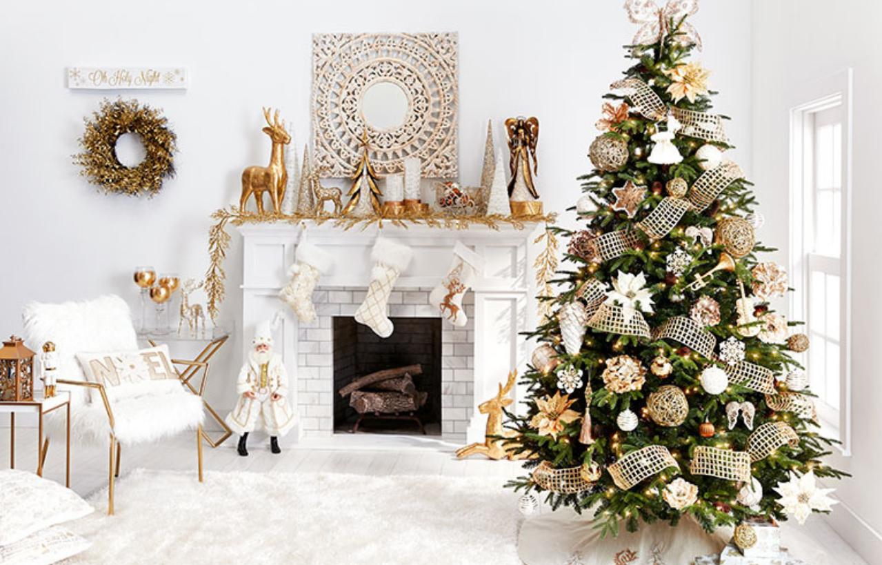 Christmas Home Decor Color Scheme Ideas To Deck The Halls With Holly U2013  Inspirations | Essential Home
