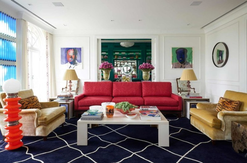 marvelous eclectic home interior designs | Sig Bergamin Designs Two Eclectic Interior Design Projects ...