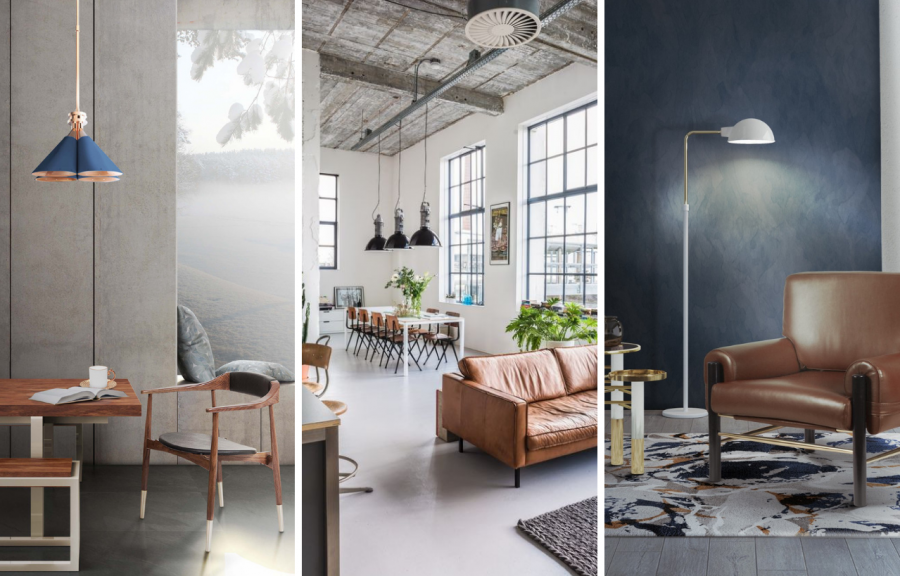 Vintage Industrial Design Ideas For Your Loft That You'll Love
