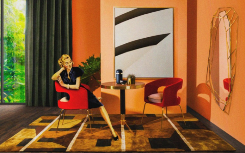 A Journey Back In Time: Glamorous Mid-century Modern Inspiration