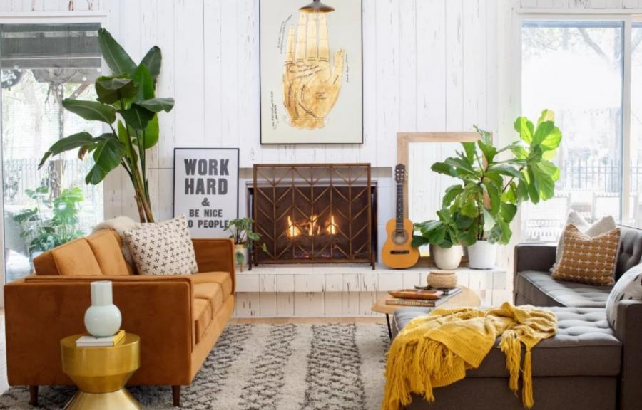 The Inspiring Cozy Home Of Fiber Artist Erin Barrett