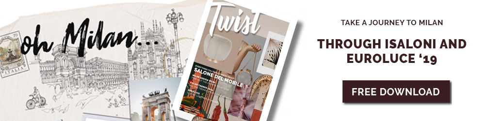 twist-isaloni  Retro Mid Century is one of the Hottest 2019 Design Trends banner twist