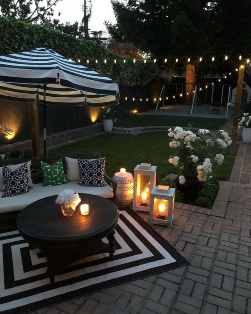 Summer Outdoor Decor Ideas For A Sunny Afternoon ... on Lawn Decorating Ideas id=96737