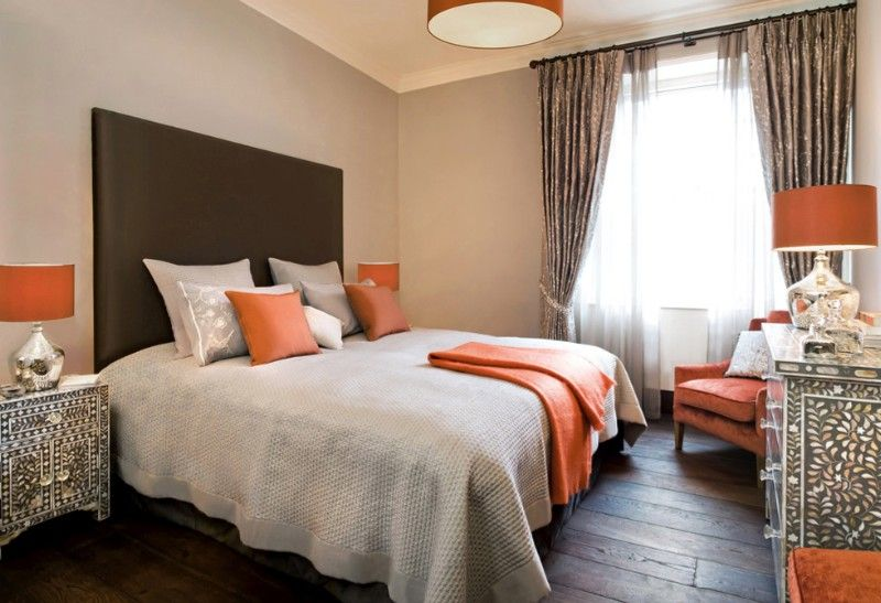 Orange Furniture orange furniture Orange Furniture and How to Make It Work in Your Home bedding 2 1