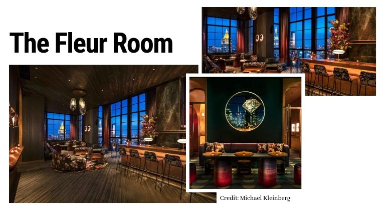 mid-century modern The Mid-Century Modern Vibe Of The Moxy Chelsea Hotel By Rockell Group Feroce Ristorante and Caff   4
