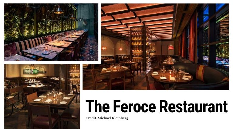 mid-century modern The Mid-Century Modern Vibe Of The Moxy Chelsea Hotel By Rockell Group Feroce Ristorante and Caff   5