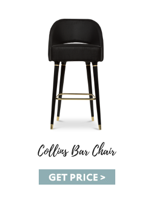 mid-century modern The Mid-Century Modern Vibe Of The Moxy Chelsea Hotel By Rockell Group collins bar chair