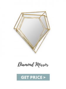 mid-century furniture 3 Details You Must Be Able to Pinpoint In Mid-Century Furniture diamond mirror 225x300