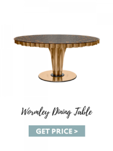 fall 2019 color trends Essential Home Products For Fall 2019 Color Trends wormley dining table 225x300