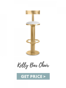 gold accents Trends Alert: Gold Accents For Your Luxury Home kelly bar chair 225x300