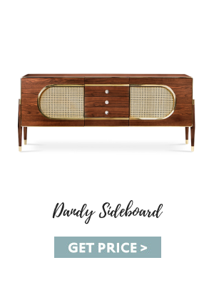 Sugar Almond - Dandy Sideboard fall color trends These Fall Color Trends Will Bring Warmth Into Your Home This Season dandy sideboard