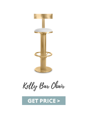 Dark Cheddar - Kelly Bar Chair fall color trends These Fall Color Trends Will Bring Warmth Into Your Home This Season kelly bar chair