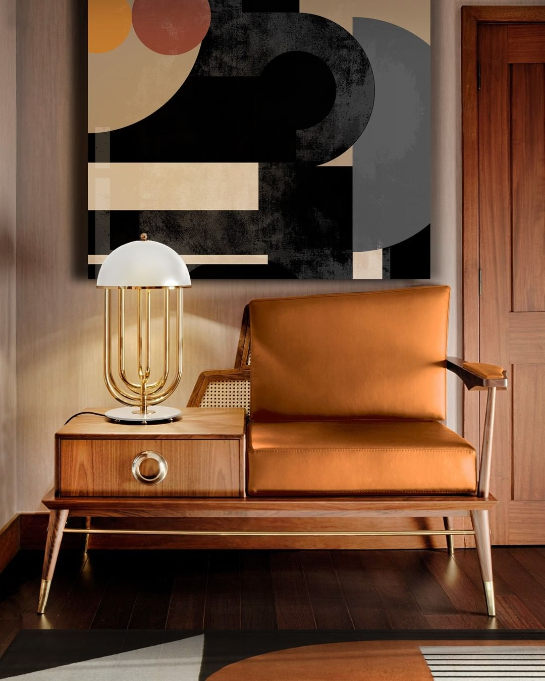 MAKE A STATEMENT WITH GRANT LOVESEAT
